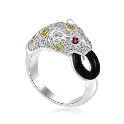 Purple panther ring