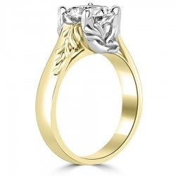 Half Leave Ring
