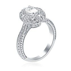Oval delight ring