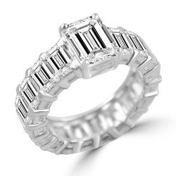 Emerald Like Eternity Band
