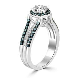 Captivating ring