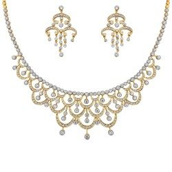 Trimini Necklace with Earring