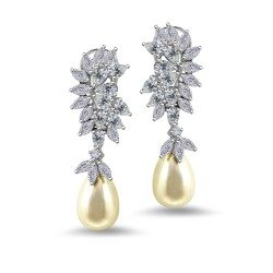 Changeable Pearl Drop Earring