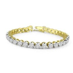 Five pointer tennis bracelet