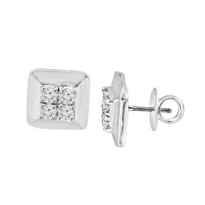Cufflink earring