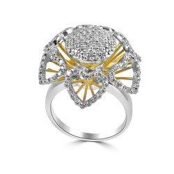 Sun flower ring