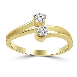 Two friends ring