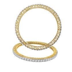 Fifteen cent single line bangle