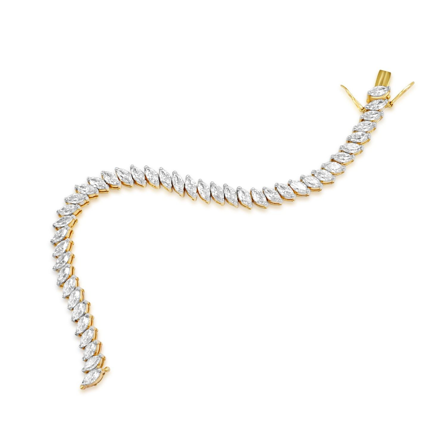 of a oval articulated harry bracelet links band winston designed diamond pin marquise modified as the series