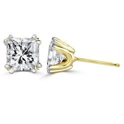 Double prong princess ear studs